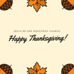 Acknowledging God's Faithfulness in Thanksgiving