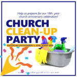 Clean-Up Party for 18th Year Anniversary