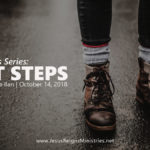 Sermon of the Week: Next Steps