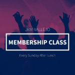 Membership Class is Up