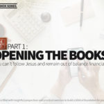 Part I: Opening the Books
