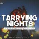 Tarrying Nights April 3-5, 2019