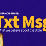 Txt Msg: New Sermon Series