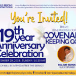 19th Year Anniversary Celebration