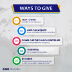 Five Ways to Give