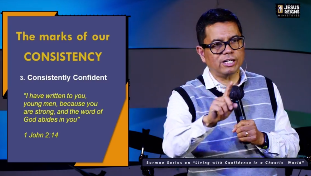 stay consistent - Christian life
